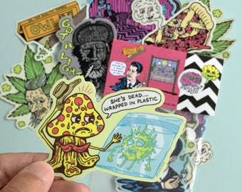 TWIN PEAKS Sticker Set