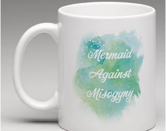Feminist Mermaid Coffee Mug