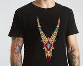 Tattoo Skull T Shirt , Mens T Shirt , Graphic T Shirt , Birthday Gift , Graphic Tee , Men's Shirt , Casual T Shirt , T Shirts For Men