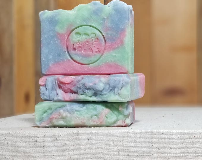 "China Rain Scented ""Ophelia"" Soap Goddess Loves Shakespeare Soap, vegetarian, lightly scented, yogurt soap, free shipping"