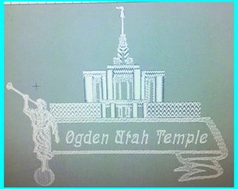 Ogden Utah Temple - Plain Edge