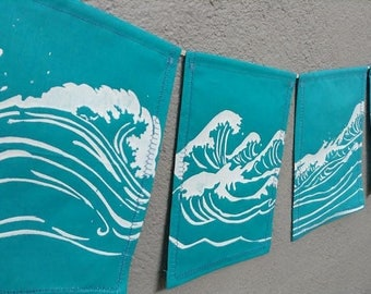 Ocean Prayer Flags. Go with the Flow.
