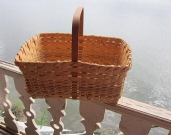 large splint basket handmade market basket splint baskets