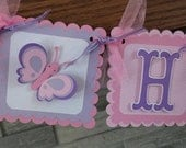 Custom listing for Linda Butterfly Baby Shower Banner
