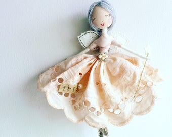 C R E A T E  Y O U R  O W N  C U S T O M  F A I R Y  Beautifully handmade with treasured scraps of vintage and antique finds