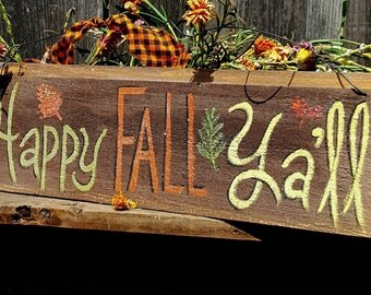rustic halloween decorrustic harvest decorprimitive fall decorwood fall sign - Harvest Decor