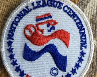 1876-1976 National League Centennial baseball patch