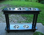 Custom Order for Shery M. Double Tier Elevated Dog Bowl Feeder