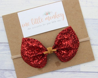 Red Glitter {ELIZA} Bow - Autumn 2017