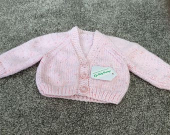 Newborn Baby Cardigan's choice of 5 colours