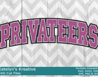 Privateers Arched SVG Files