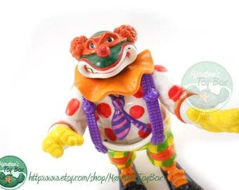 TMNT Action Figure: Crazy Clownin' Mike 1990s