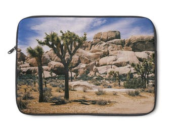 Joshua Tree, Desert Laptop Sleeve, Desert Accessories, Cactus Macbook Case, Desert Laptop Sleeve, California Laptop, Nature Laptop Sleeve