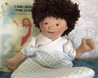 Baby Jesus Doll Etsy