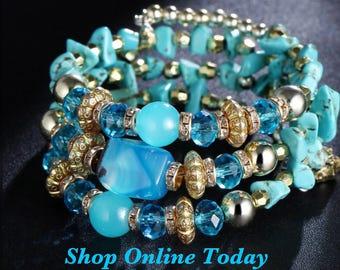 Boho Stone Bracelet