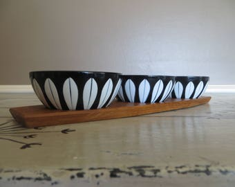 Cathrineholm Black Enamel Bowl Appetizer Set Nut Bowl Black Enamelware Enamel Bowl Small Bowls Black Lotus Norway