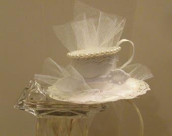 Bridal Teacup Headbands