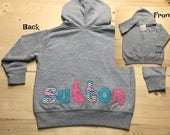 Personalized Hoodie, Baby Hoodie, Toddler Hoodie, Personalized Sweatshirt, Personalized Toddler Hoodie, Toddler Birthday Gift, Sutton