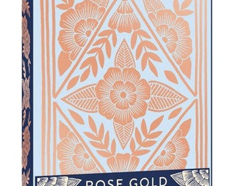 Chronicle Books Collaboration Set of 12 Rose Gold Note Cards