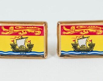 New Brunswick Flag Cufflinks