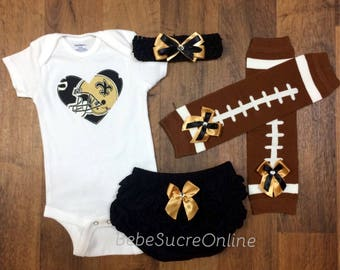New Orleans Saints Game Day Outfit