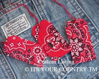 300 Western Gift Tags, Red Bandana Fabric Paper Wedding Favor Tags, Tie Ons, Package Labels CUSTOM for dnoa28 itsyourcountry