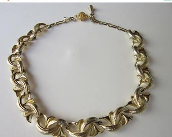 50% OFF Vintage Coro Gold tone Choker Necklace