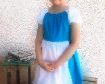 Belle Provincial Dress, blue dress, Belle costune, belle dress, baby belle dess, baby blue dress, baby Belle costume