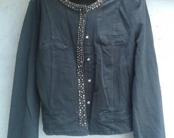 Vintage jacket, 90s jacket, small jacket, unique jacket