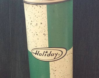 VINTAGE THERMOS HOLIDAY, beverage container, hot, cold, cup, travel jug