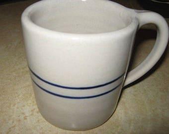 Heavy Stoneware or Pottery Coffee Mug