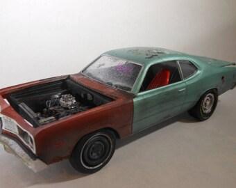 Classicwrecks,Scale Model Car,Junkyard Model,Barn Find,Dodge Dart, 124 Scale