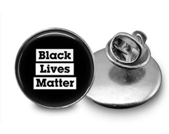 Black Lives Matter Pin BLM Pin BLM Button Black Lives Matter Jewelry