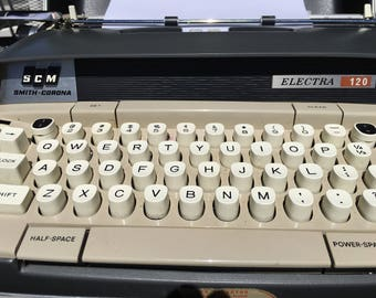 SMITH CORONA ELECTRA 120 Electric Typewriter