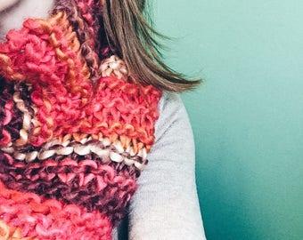 SugarPlum Knit Cowl