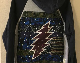 Grateful Dead 13 Point Bolt hoodie medium
