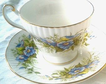 Queen's Fine Bone China Tea Cup and Saucer Wild Flowers Tea Cup