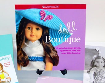 American Girl Doll Boutique Supplies Paper Crafts Incomplete Kit