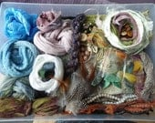 """Hope jacare - """"Spirit doll"""" Creativity pack  - hand dyed threads, fabric and other goodies - CP38"""