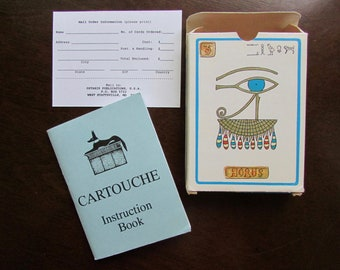 Cartouche Oracle Cards of Egyptian Magic by Murry Hope Hard-to-Find Divination Meditation Healing Protection