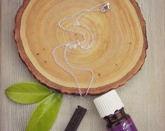 Lava Point Necklace • Lava Stone Necklace • Essential Oil Necklace • Aromatherapy Jewelry • Lava Bead Necklace • Geometric Lava Necklace