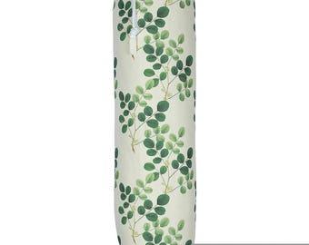 "Exclusive Designer Plastic Carrier Grocery Bag Holder Dispenser - Rosetta Rosewood, ""Lakeland"" Collection From Izabela Peters, Made in The U"