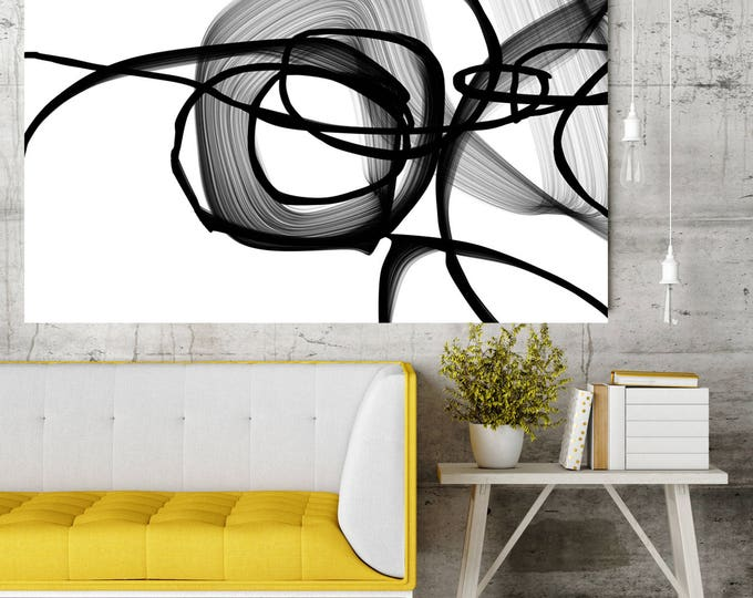 Large Abstract Expression Wall Art
