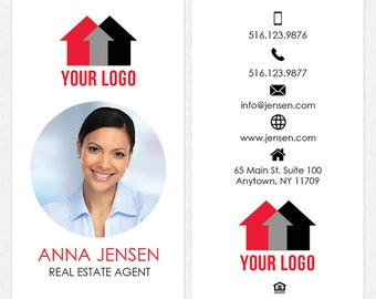 Independent real estate DELUXE business cards - thick, color both sides - FREE UPS ground shipping