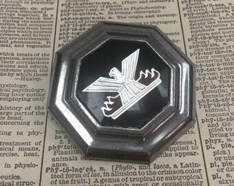 Vintage falcon bird hood ornament - chevy emblem - vintage Chevrolet car badge - auto emblem