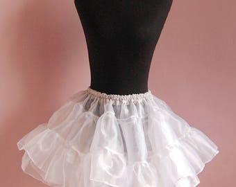 Organza cupcake petticoat