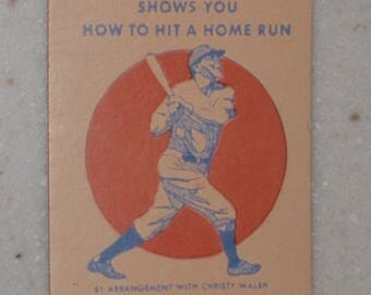 Vintage 1932 Wheaties Babe Ruth