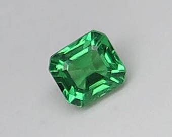 0.78 Ct Natural Green Garnet Tsavorite Unheated