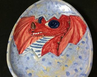 Hatching Dragon Platter