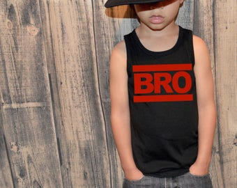 Brother | BRO | Big Brother tank | Toddler Boy Tank Tops | Brother Shirt | Sibling Shirts | Brother Shirts | Pregnancy Announcement | Boy